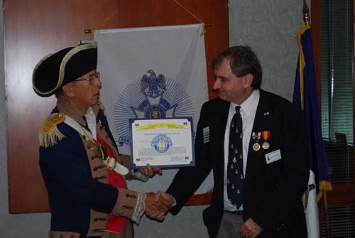 The Vietnam Veterans of America, Heart of America Chapter, Chapter 317 has awarded MOSSAR & HST Chapter Color Guard Commander Robert L. Grover and Harry S. Truman Chapter President Dirk A. Stapleton, a Certificate of Appreciation for participating in the Veterans Day Ceremony at the Vietnam Memorial in Kansas City, MO on Veterans Day November 11, 2010