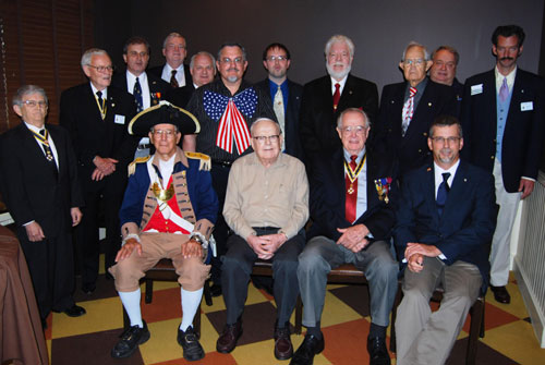 Pictured here are members of the Harry S. Truman Chapter attending the 15th Annual Harry S. Truman Chapter Fourth of July Luncheon on June 25, 2011, at the Grand Street Cafe in Kansas City, MO.