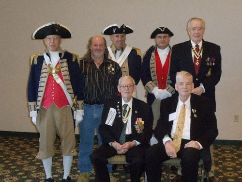 Pictured here is the Harry S. Truman Color Guard Team and members of the Harry S. Truman Chapter, taken at the 29th Annual George Washington Birthday Celebration in Overland Park, KS on February 21, 2015.