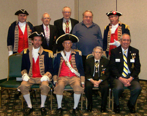 Pictured here is the Harry S. Truman Color Guard Team and members of the Harry S. Truman Chapter, taken at the 27th Annual George Washington Birthday Celebration in Overland Park, KS on February 23, 2013.