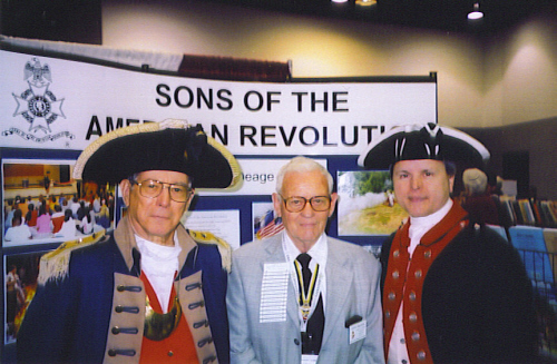 The Harry S. Truman Chapter and Color Guard attended the 2008 National Genealogical Society Genealogical Conference, held May 14-17, 2008, at the Hyatt Regency Crown Center in downtown Kansas City, MO.  The NSSAR sponsored this event and members of the Harry S. Truman Chapter represented the Sons of the American Revolution exhibit. The theme this year is Show Me the Nation's Records.