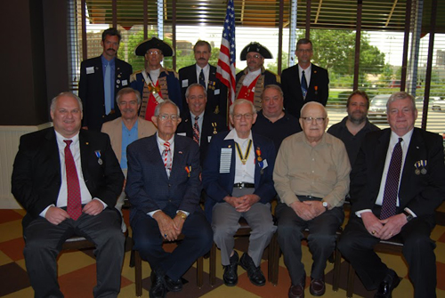 Pictured here are members of the Harry S. Truman Chapter attending the 16th Annual Harry S. Truman Chapter Fourth of July Luncheon on June 23, 2012, at the Grand Street Cafe in Kansas City, MO.