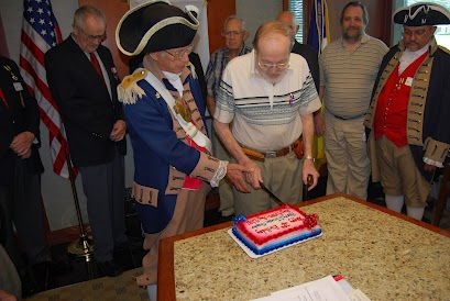 The members of the Harry S. Truman Chapter and Color Guard are shown here at the 28th Birthday Celebration on August 11th, 2012.  The Charter date for the Chapter originatated on August 4th, 1984.  Compatriot George DeLapp and Robert L. Grover, are both founding charter members.