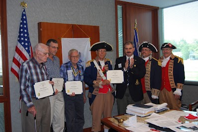 Pictured here are several Compatriots who have assisted the Harry S. Truman Chapter, in identifying the soldiers of the American Revolution, who found their final resting place within the boundaries of NW Missouri. The Harry S. Truman Chapter has embarked on this project as a tribute to each patriot buried in NW Missouri. The Harry S. Truman Chapter features monthly articles and posting of a biography about the Patriot on the chapter's website at: American Revolution Soldiers Buried in NW Missouri.