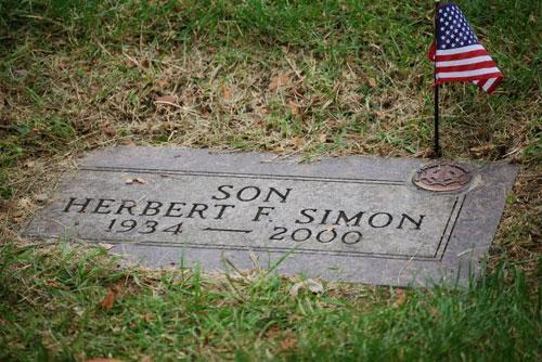 Compatriot Herbert F. Simon SAR Member Grave Marker Dedication