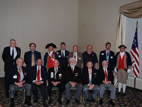 Pictured here is the Harry S. Truman Color Guard Team and members of the Harry S. Truman Chapter, taken at the 25th Annual George Washington Birthday Celebration in Overland Park, KS on February 19, 2011.