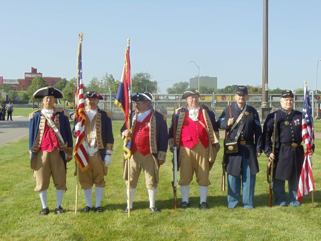 The Harry S. Truman  Color Guard Team participated on Memorial Day 2012. The team participated in the Memorial Day event located at the Liberty Memorial tower in Kansas City, MO, which honors World War I veterans.