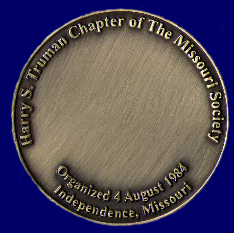 The Harry S. Truman Chapter Coin (Reverse)