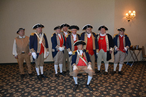 Pictured here is the MOSSAR Color Guard Team at the 29th Annual George Washington Birthday Celebration in Overland Park, KS on February 21, 2015.