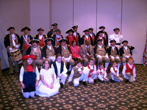 Pictured here is the MOSSAR and KSSSAR Color Guard Team, along with GWBC award recipients taken at the 27th Annual George Washington Birthday Celebration in Overland Park, KS on February 23, 2013.