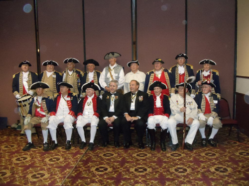 Pictured here is the MOSSAR Color Guard team at the 123rd MOSSAR Annual State Convention in Jefferson City, Missouri on April 26-27, 2013.