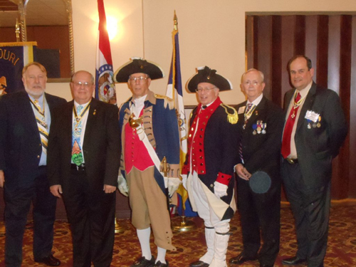 Pictured here are Honorary Vice Presidents at the 123rd MOSSAR Annual State Convention in Jefferson City, Missouri on April 26-27, 2013.