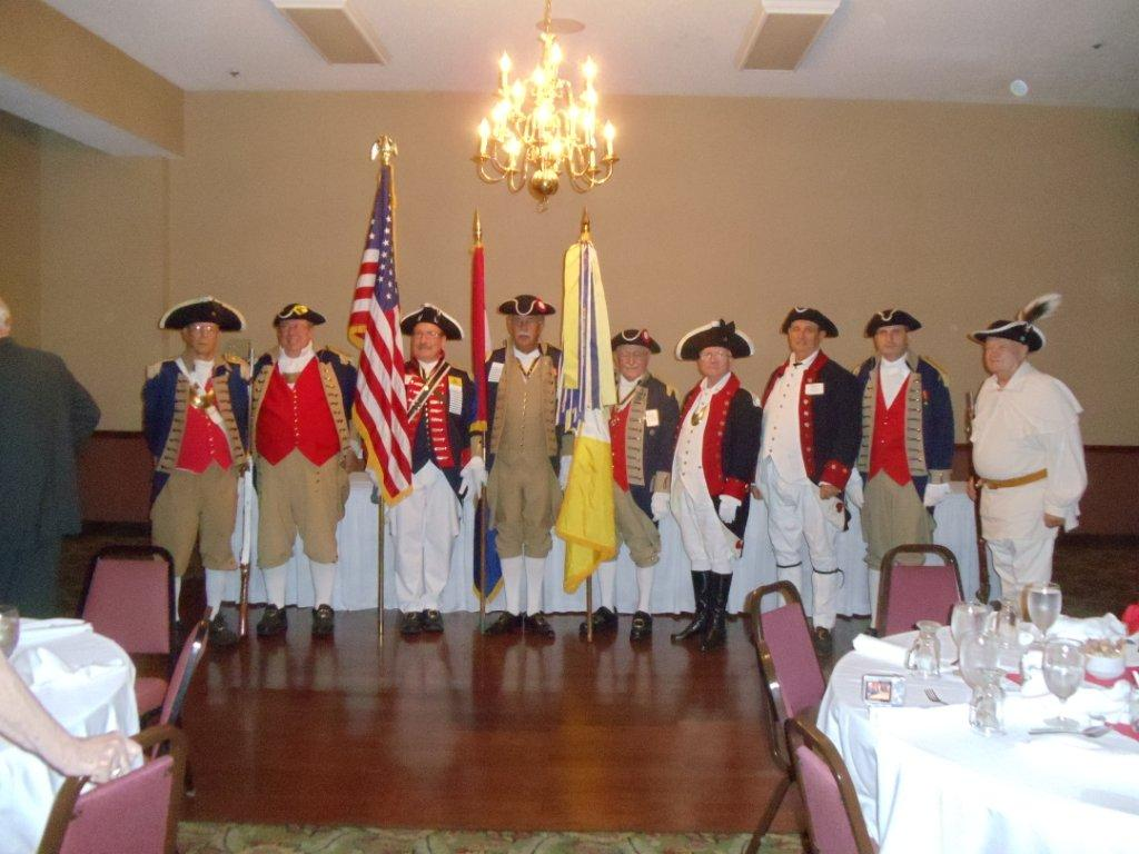 Pictured here is the MOSSAR Color Guard team at the 122nd MOSSAR Annual Convention in Branson, Missouri on April 27-28, 2012.