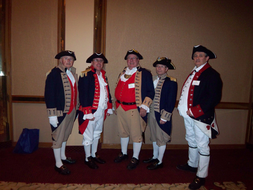 Pictured here is the MOSSAR Color Guard, who presented the National Colors during the opening ceremony at the MSSDAR State Conference in Columbia, Missouri on April 29, 2011.