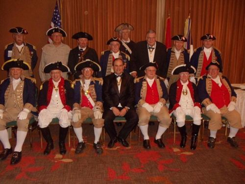 Pictured here is President Clifford Olsen (Outgoing MOSSAR President), President Denis Craft (Incomming MOSSAR President) and Robert L. Grover, MOSSAR Color Guard Commander, along with the MOSSAR Color Guard team at the 121st Annual Missouri State Convention in St. Louis, Missouri on April 29-30, 2011.