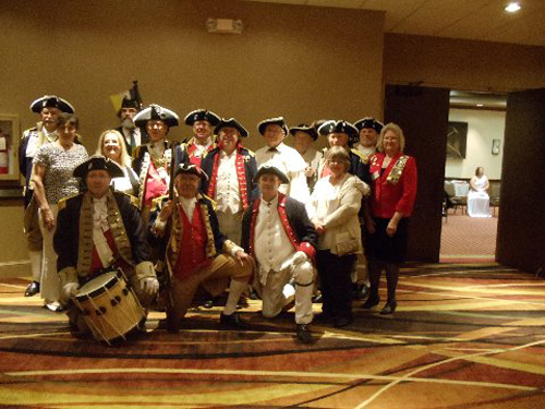 Pictured here is the MOSSAR Color Guard, who presented the National Colors during the opening ceremony at the MSSDAR State Conference in Columbia, Missouri on May 2, 2014.