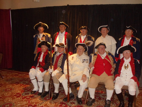 Pictured here is the MOSSAR Color Guard, who presented the National Colors during the opening ceremony at the MSSDAR State Conference in Columbia, Missouri on May 3, 2013.