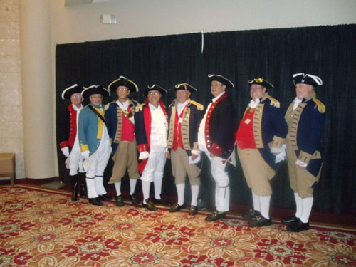 Pictured here is the MOSSAR Color Guard, who presented the National Colors during the opening ceremony at the MSSDAR State Conference in Columbia, Missouri on May 4, 2012.