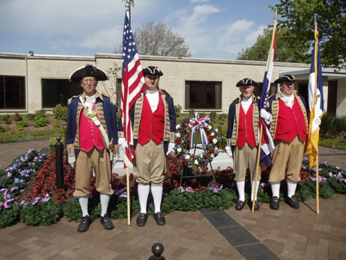The MOSSAR Color Guard conducted the 38th Annual Observance of President Harry S. Truman's birthday at the Harry S. Truman Library in Independence, MO on Sunday, May 8th, 2011 at 9:30 AM.  In observance of this occasion, the Truman Library and Museum, and several area Truman-related organizations celebrated the 127th birthday (May 8, 1884) of the area's most famous citizen, Harry S. Truman.  In observance of President Truman's Birthday, Dr. Devine honored Truman's memory and his many accomplishments.