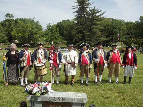 The MOSSAR Color Guard, along with other local heredity groups including the Captain Daniel Morgan Boone Chapter,Society of the War of 1812; Westport Camp #64, Sons of Union Veterans of the Civil War; Corps of Discovery Children of the American Revolution and VFW Post 1738 from Independence, MO, conducted a recognition ceremony for a Civil War Medal of Honor recipient, Sergeant Thomas Toohey.
