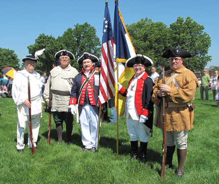 Shown here is the MOSSAR Color Guard Team who participated on Memorial Day 2011. The Color Guard team participated in the Memorial Day event located at Jefferson Barracks in Lemay, MO on Monday, May 30, 2011.