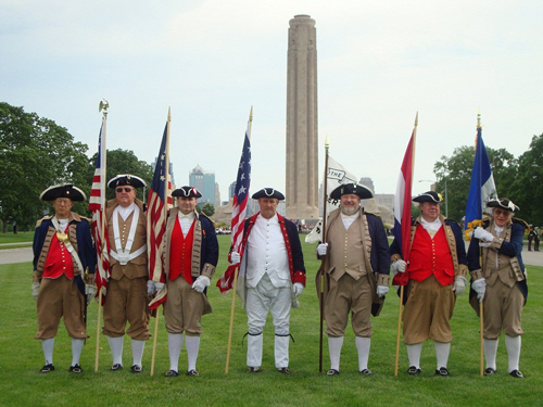 Both the MOSSAR & KSSSAR Color Guard Teams participated on Memorial Day 2011. The team participated in the Memorial Day event located at the Liberty Memorial tower in Kansas City, MO, which honors World War I veterans.