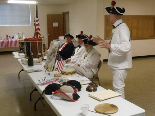 Pictured here is the MOSSAR and KSSSAR Guard teams at the Drum of Freedom presentation, held at the Shepherd's Center located at the Antioch Community Church in Kansas City, Missouri on Wednesday, June 5, 2013.   Special activities and presentations were provided to the Day club