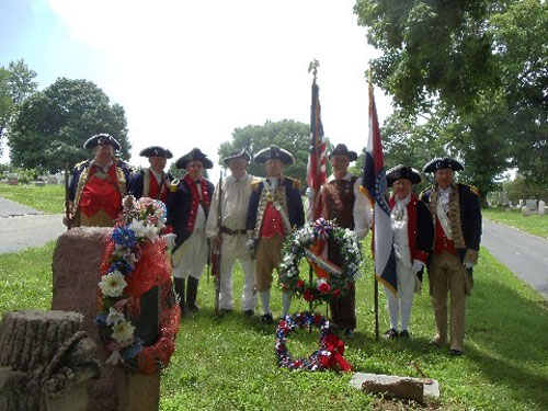 The MOSSAR Color Guard team participated in a War of 1812 Patriot Grave Dedication event for Private Gilead Rupe, which was located at Machpelah Cemetery in Lexington, MO. The MOSSAR Color Guard Team presented the National Colors for the James Kearney Chapter, State of Missouri, National Society United States Daughters of 1812.