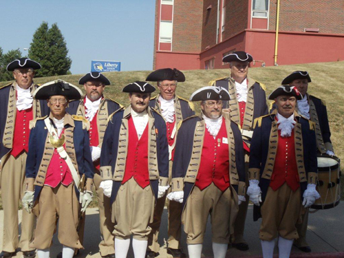 Shown here is the MOSSAR and KSSSAR Color Guard Team, who participated at the Fourth of July 2012 Parade in Liberty, MO on Wednesday, July 4, 2012.
