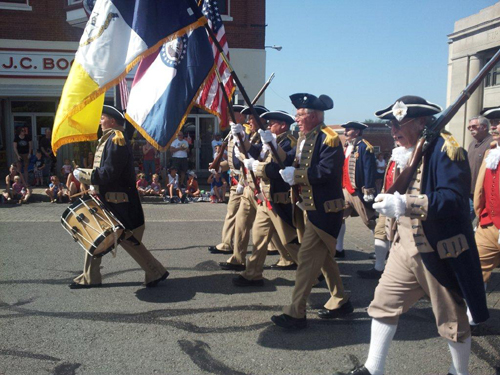Shown here is the MOSSAR and KSSSAR Color Guard Teams, who participated at the Fourth of July 2012 Parade in Liberty, MO on Wednesday, July 4, 2012.
