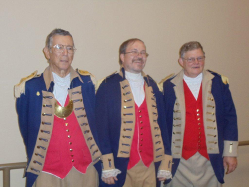 Pictured here is the MOSSAR Color Guard who presented the colors during the Celebration of Life for Ozark Mountain Chapter President Michael J. Kelly on Thursday, August 16, 2012 at the Wesley United Methodist Church, 922 W Republic Road, Springfield, MO.
