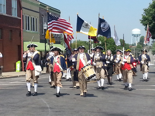 Prior to the 80th Rededication of the Historic Truman Courthouse, the MOSSAR and KSSSAR Color Guard teams participated in the Historic Truman Courthouse Parade, located at Independence Square on Saturday, September 7th, 2013 which began at 1:45 PM in Independence, Missouri. On this special day, Jackson County officials celebrated this occasion with a formal rededication ceremony on the courthouse steps.