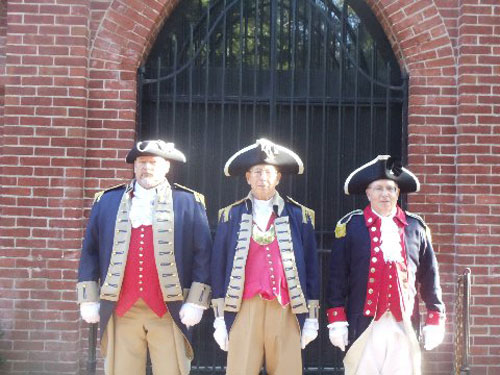 Pictured here is the MOSSAR Color Guard, who stood watch over George Washington's Tomb at Mt. Vernon, Virginia on September 20, 2014. Each MOSSAR Color Guard member stood watch, guarding two or more times during a 30 minute interval guarding the tomb of George Washington. MOSSAR Color Guard members were part of 19 Color Guard members there.