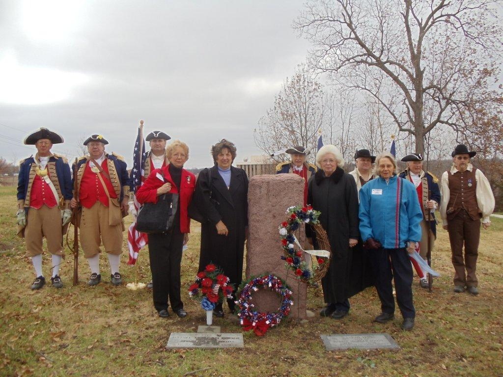 Captain Daniel Morgan Boone was honored for his service to our country in the bicentennial year of the War of 1812 by his namesake, the Captain Daniel Morgan Boone Chapter of the Society of the War of 1812 in the State of Missouri, with a Grave Marker Dedication, held on Saturday, December 15, 2012. President Brian Smarker, of the Captain Daniel Morgan Boone Chapter of the Society of the War of 1812; officiated the grave marker dedication ceremony.