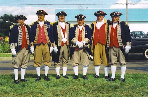 MOSSAR Color Guard team at Missouri State Fair in Sadalia, MO on August 12th, 2005