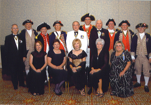 MOSSAR Color Guard team and spouses at Annual NSSAR Congress at Dallas, TX on July 8-12, 2006