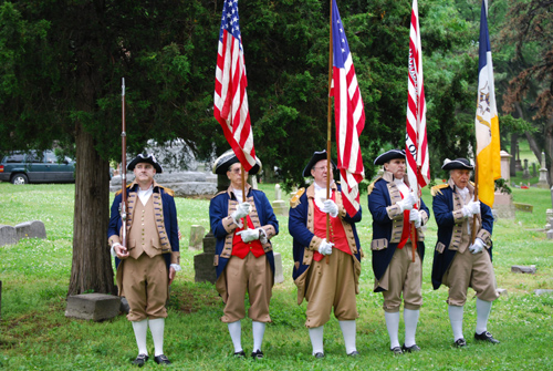 The MOSSAR & KSSSAR Color Guard team participated in a Memorial Day event and 31 Star U.S. Flag Dedication located at Union Cemetery in Kansas City, MO. The MOSSAR & KSSSAR Color Guard Teams pays tribute to all veterans buried at Union Cemetery from the American Revolutionary War through the Vietnam conflict.