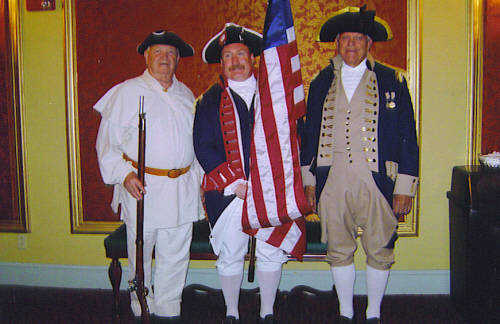 Pictured here is the MOSSAR Color Guard team at the Missouri Theater, in which they presented national colors at the Columbia, MO Patriotic Concert in Columbia, Missouri on Saturday, July 5, 2008.  Over 1,200 people attended this event.
