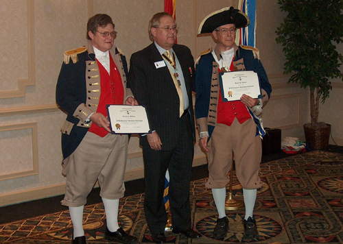 Pictured here in the center photo is PG David Appleby and MOSSAR members participating in the 119th Annual Missouri State Convention in St. Louis, Missouri on April 24-25, 2009.