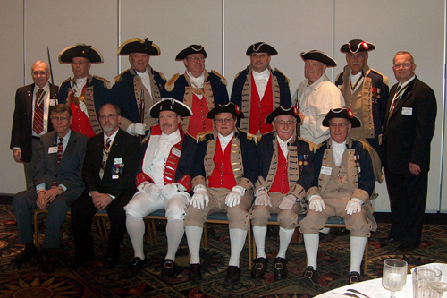 Pictured here is the MOSSAR Color Guard Team, along with MOSSAR President, Captain Russell F. DeVenney, Jr. and other compatriots during the 119th Annual Missouri State Convention, in St. Louis, MO, on Saturday, April 25, 2009.