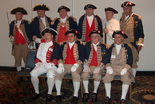 Pictured here in the left photo is the MOSSAR Color Guard Team taken at the 119th Annual Missouri State Convention in St. Louis, Missouri on April 24-25, 2009.
