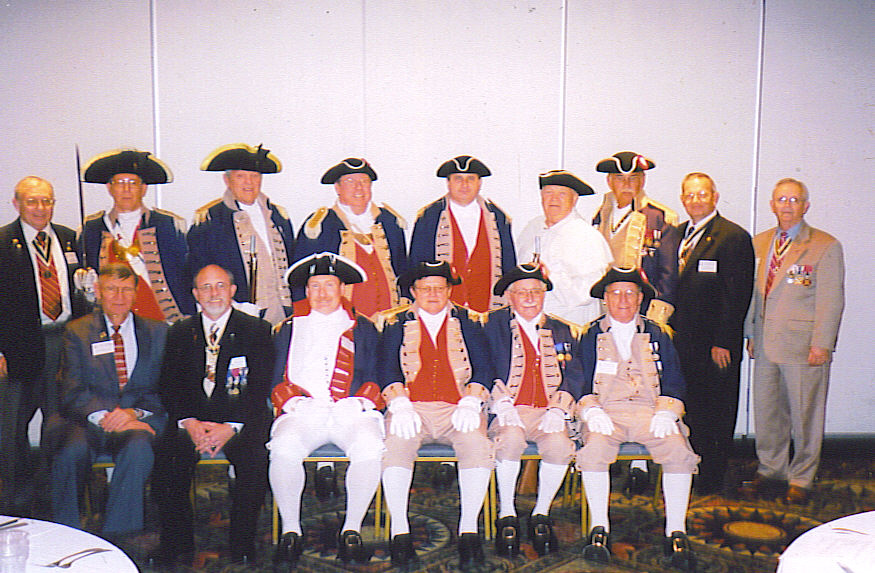 Pictured here in the left photo is the MOSSAR Color Guard Team, MOSSAR Color Guard Team, along with MOSSAR President, Captain Russell F. DeVenney, Jr. and other compatriots taken at the 119th Annual Missouri State Convention in St. Louis, Missouri on April 24-25, 2009.