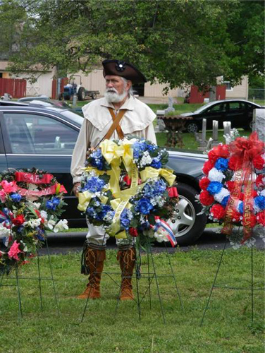 Pictured here is the MOSSAR Color Guard during the Judge Caleb Wallace Memorial Dedication in Louisville, Kentucky on May 2, 2009.