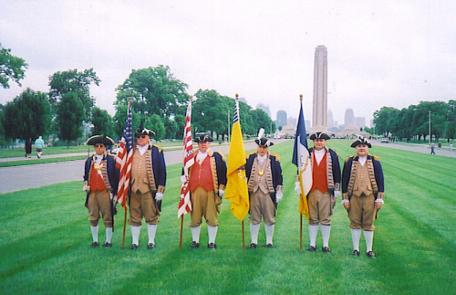Both the MOSSAR & KSSSAR Color Guard Teams participated on Memorial Day 2009. The team participated in the Memorial Day event located at the Liberty Memorial tower in Kansas City, MO, which honors World War I veterans.