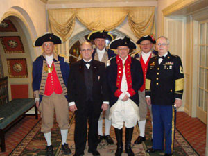 The MOSSAR Color Guard members are shown here participating in the Leadership / Trustee Meeting in Louisville, KY on Thursday - Saturday, March 4-6, 2010.