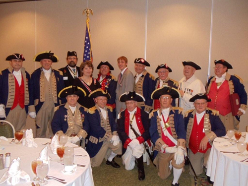 Pictured here is Major General Robert L. Grover, MOSSAR Color Guard Commander, and the MOSSAR Color Guard team at the 120th Annual Missouri State Convention in Columbia, Missouri on April 23-24, 2010.