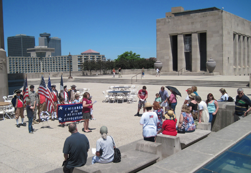 On Saturday, May 29, 2010, a Memorial Service was held with a Memorial Wreath-Laying to Honor the Magnificent Valor at Liberty Memorial.