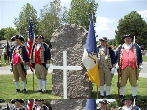 Shown here is both the MOSSAR & KSSSAR Color Guard Teams, who participated on Memorial Day 2010. The Color Guard team participated in the Memorial Day event located at Woodlawn Cemetery in Independence, MO.