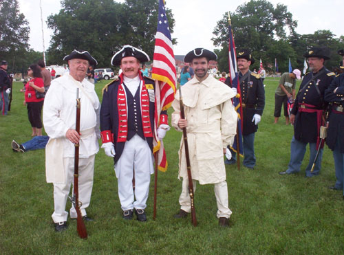 Shown here is the MOSSAR Color Guard Teams who participated on Memorial Day 2010. The Color Guard team participated in the Memorial Day event located at Jefferson Barracks in Lemay, MO.