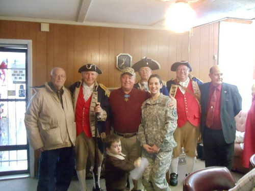 The MOSSAR Color Guard Team participated in presenting and retirement of the colors during the Wreaths Across America Ceremony on December 11, 2010. The team participated in the Wreaths Across America Ceremony located at the Swan Lake Memorial Gardens Cemetery in Grain Valley, MO, which honors Missouri veterans. The MOSSAR Color Guard team was privileged to meet Colonel Don 'Doc' Ballard, Congressional Medal of Honor Recipient after the Wreaths Across America Ceremony.